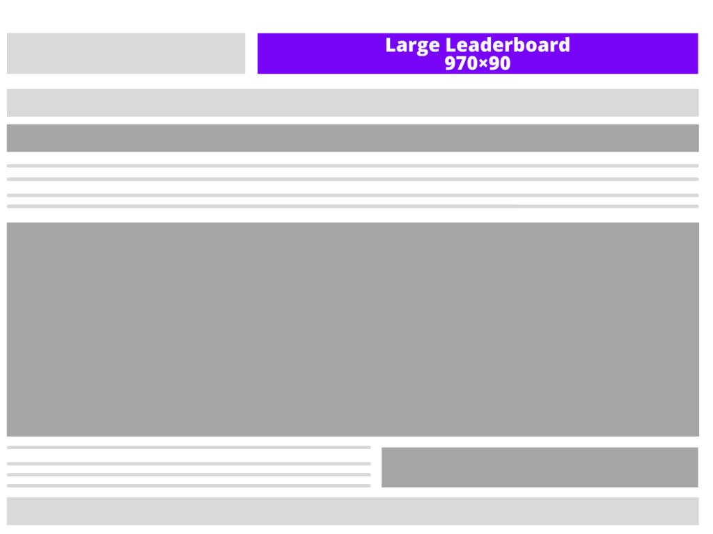 Large leaderboard (970×90)