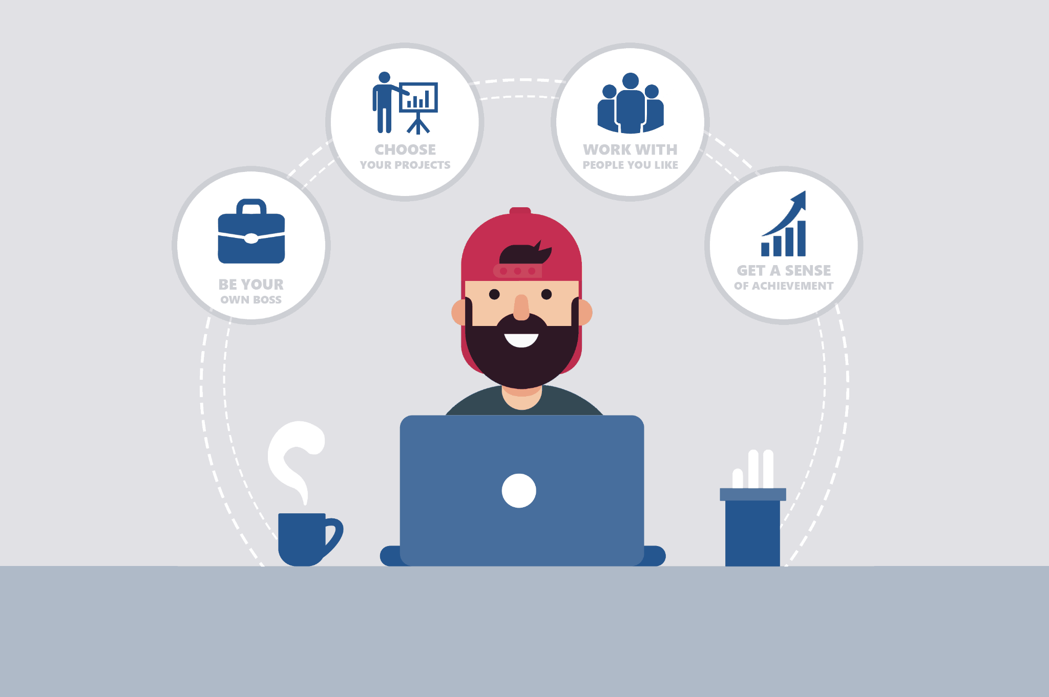 freelancer monetization has many benefits for a person wanting to montize online